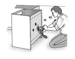 how to replace base cabinets how to finish installing base cabinets dummies