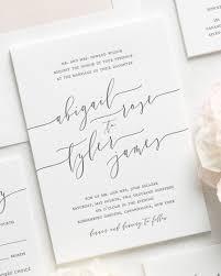 calligraphy invitations calligraphy letterpress wedding invitations letterpress