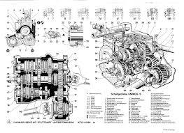 unimog drawing gearbox caja de cambios schaltgetriebe unimog
