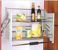 Pull Out Baskets For Kitchen Cabinets by Hpjf615 Kitchen Cabinet Side Pull Out Drawer Basket Shop For Sale
