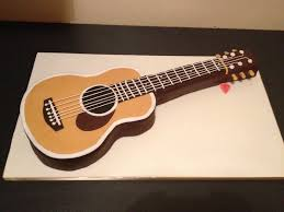 guitar cake topper guitar birthday cake images kudoki for
