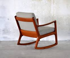 Modern Wooden Rocking Chair Select Modern Ole Wanscher Teak Rocking Chair