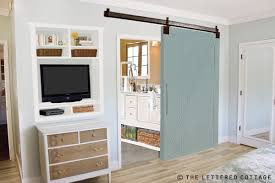 we re building a barn door the lettered cottage