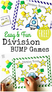 free simple printable division games 1 2 digit divisors