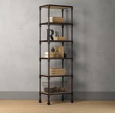 Industrial Metal Bookshelf Shelves Amazing Narrow Metal Shelving Very Narrow Shelving Unit