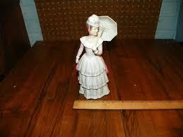 home interiors figurines homco home interiors porcelain with parasol