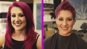 before and after picuters of long to short hair short pixie cut long hair to short hair before and after youtube