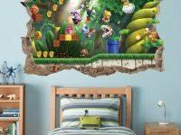 Super Mario Bedroom Decor Super Mario Bean Bag Chair Room Decorating Accessories Car Decals
