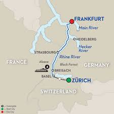 Map Of Switzerland And Germany by Switzerland River Cruise Avalon Waterways