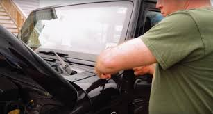 Led Light Bar Installation by How To Install A 36inch Led Light Bar With A Windshield Mount On