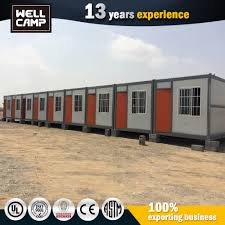 prefab camp kenya army prefab house container house accommodation steel base