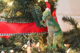 how to make dinosaur ornaments