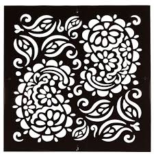 paisley stencil paisley stencil pattern reusable wall stencils for