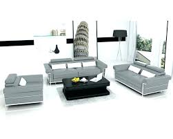 Canap 14 Places Canape 3 2 Canapa Sofa Divan Ensemble Canapa 321 Places En Cuir Gris