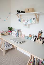 idee deco bureau travail un grand plan de travail pour de grands travaux on aime les