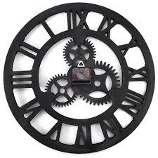 aliexpress com buy 17 7 inch digital wall clocks design 3d large