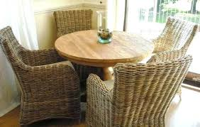 rattan dining room chairs ebay ratan dining table childsafetyusa info