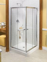 sliding shower screen corner centric square maax bathroom