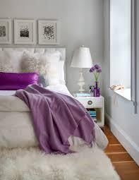 elegant white purple apartment design home interior idolza