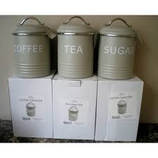storage canisters for kitchen 40 best tea coffee sugar tins images on tin cans tins