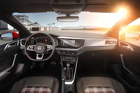 volkswagen gti interior vw polo 2018 in pictures by car magazine