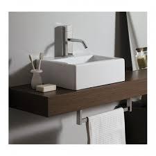 mensola lavabo da appoggio mensola bagno per lavabo d appoggio in legno in vari colori