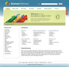 free templates for official website free business directory templates free web 2 0 templates free
