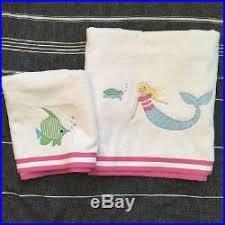 Pottery Barn Kids Mermaid Shower Curtain Pottery Barn Kids Mermaid Shower Curtain Bath Towel Hand Towel