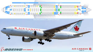 Boeing 777 300er Seat Map Seatguru Seat Map Air Canada Airbus A319 319
