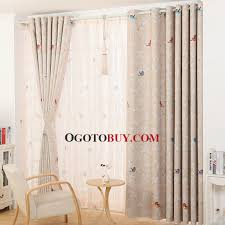 Nursery Curtains Sale Pastoral Floral And Bird Patterns Insulated Nursery Curtains