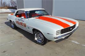 69 camaro pace car 1969 chevrolet camaro indy pace car rs ss convertible 201721