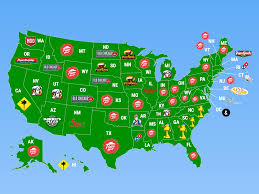 Map Of Midwest States by Map Shows The Most Popular Pizza Chains In Every State Business