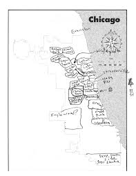 University Of Chicago Map by 20 Chicagoans Map Chicago Story Luck
