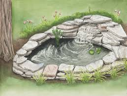 Building A Fish Pond In Your Backyard by 12 Steps To Building A Small Pond For Your Backyard Myfarmlife