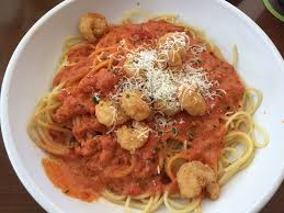 Olive Garden Five Cheese Marinara - spaghetti with five cheese marinara and shrimp fritta yelp