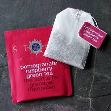 pomegranate raspberry green tea stash tea