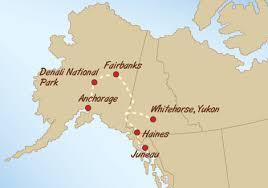 us map anchorage alaska green tortoise adventure travel alaska