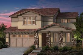 Craftsman Ranch Plan 4 U2013 New Home Floor Plan In North Grove At Patterson Ranch By