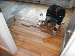 how to install epoxy coating over wood substrate