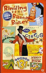 Barnes And Bailey Circus Amazon Com Ringling Bros U0026 Barnum U0026 Bailey Circus 131st Edition