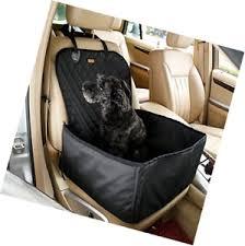 siege de style housse de siège avant de voiture de style 2 en 1 pour chien