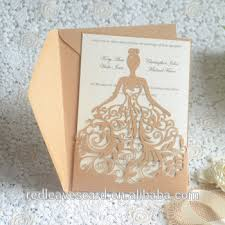 Invitation Cards Handmade - china supplier modern design 3d printing wedding invitation card