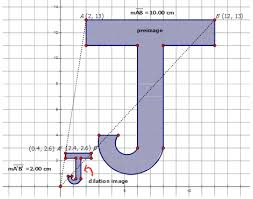 dilations of geometric shapes ck 12 foundation