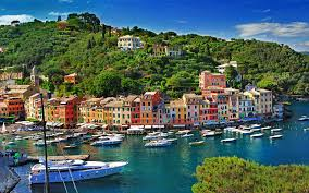wallpaper sorrento italy boats yacht marinas cities houses 3840x2400
