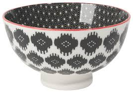 amazon com now designs ikat stamped bowls set of 6 10 oz