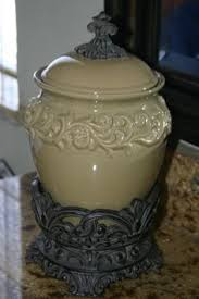 tuscan style large kitchen canisters love the shape not the