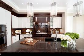 brown and white kitchen cabinets brown and white kitchen houzz