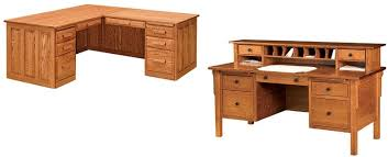 Custom Made Office Furniture by Amish Woodworking Handcrafted Furniture Made In The Usa