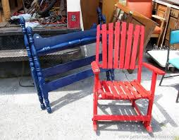 Red Rocking Chairs Best 25 Red Rocking Chair Ideas On Pinterest Farmhouse Outdoor
