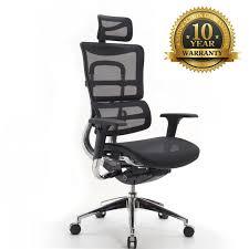 Ergonomic Chair by Genuine Kasa Ergonomic Executive High Back Mesh Chair